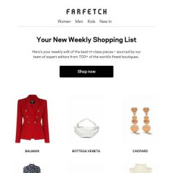 [Farfetch] We found these for you