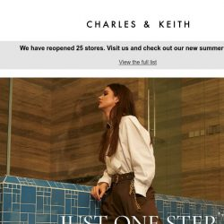 [Charles & Keith] Have You Updated Your Password Recently?