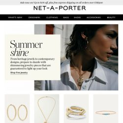 [NET-A-PORTER] The jewelry you won't take off all summer