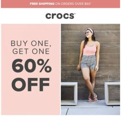 [Crocs Singapore] This BOGO is heating up