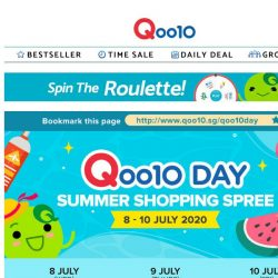 [Qoo10] July Qoo10 Day Supersale STARTS TODAY. Browse sizzling hot deals here! Shop & Win 4X Fitbit Charge 4 or 2X Nintendo Switch