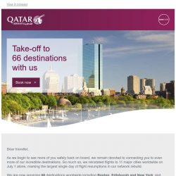 [Qatar] Ready to explore the world together again?