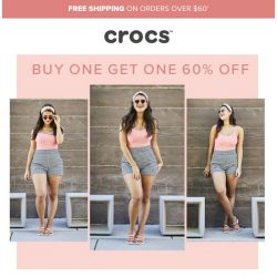 [Crocs Singapore] BOGO is still going on—but it'll soon go!