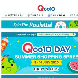 [Qoo10] Qoo10 Day Baby & Kids Sale! Lowest prices on diapers,milk formula & more here!