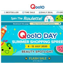 [Qoo10] 70% OFF BEAUTY SUMMER SALE! Get SK-II Clear Lotion for $69.90 & 10pcs Mediheal Mask for $7.70 only!