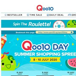 [Qoo10] LAST DAY of Qoo10 Day July Sale! Many new and exciting deals just for you, hurry see them now!