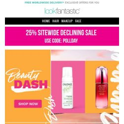 [lookfantastic] Early Access to Beauty Dash 😍