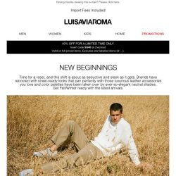 [LUISAVIAROMA] Back to Nature: FW20/21 new arrivals