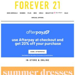 [FOREVER 21] where'djahgetthatdress?