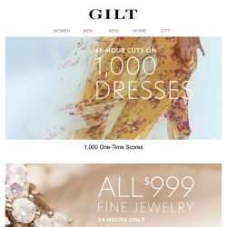 [Gilt] 1,000 (!) Dresses at ONE-TIME Prices