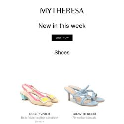[mytheresa] Don't miss out: 800+ new arrivals this week