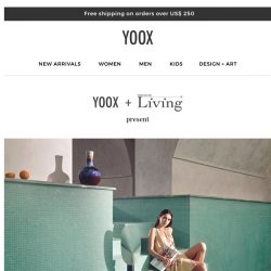 [Yoox] SUMMER SPLASH! Discover the new photoshoot from Living Corriere della Sera