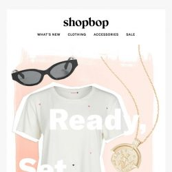 [Shopbop] Easiest. outfits. ever.