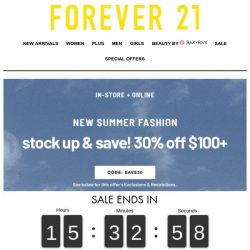 [FOREVER 21] wanna do this today?