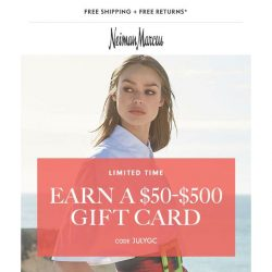 [Neiman Marcus] Want a $500 gift card? Take a peek inside