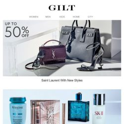 [Gilt] Up to 50% Off New Saint Laurent Women | The Beauty & Grooming Reserve