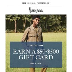 [Neiman Marcus] Need something new? Your $500 gift card is waiting!