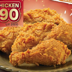 Popeyes: Preorder now to enjoy 5pcs of Chicken at only $7.90!