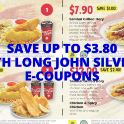 Long John Silver's: Flash These E-Coupons to Save Up to $3.80 on Your LJS Meals!