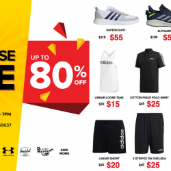 Link Outlet Store: Warehouse Sale with Up to 80% OFF Adidas, Puma, Herschel, Converse, Dr. Martens & More!
